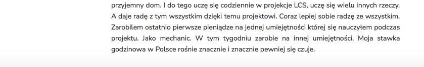 Janusz Dziewit - Opinia Life&CareerSystem cz.2
